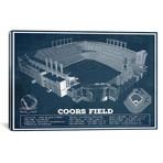 "Colorado Coors Field I // Cutler West (26""W x 18""H x 0.75""D)"