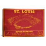 "St. Louis Busch Stadium // Cutler West (26""W x 18""H x 0.75""D)"