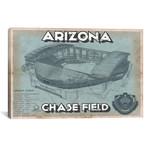 "Arizona Chase Field // Cutler West (26""W x 18""H x 0.75""D)"