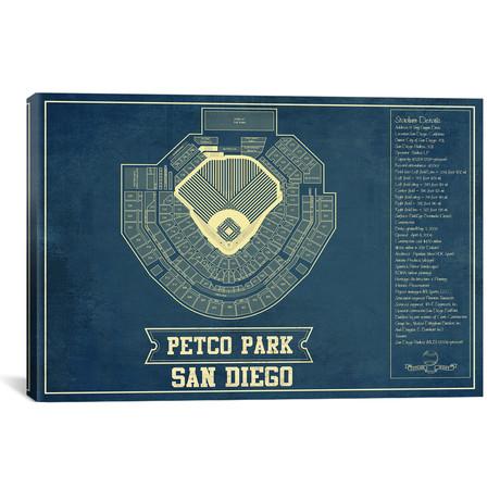 "San Diego Petco Park // Cutler West (26""W x 18""H x 0.75""D)"