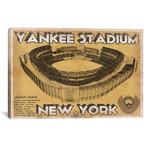 "New York Yankees Stadium Brown // Cutler West (26""W x 18""H x 0.75""D)"