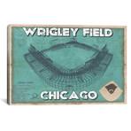 "Chicago Wrigley Field // Cutler West (26""W x 18""H x 0.75""D)"
