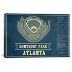 "Atlanta SunTrust Park // Cutler West (26""W x 18""H x 0.75""D)"