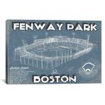 "Boston Fenway Park Blueprint // Cutler West (26""W x 18""H x 0.75""D)"