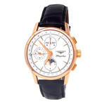 Longines Flagship Heritage Chronograph Automatic // L4.792.8.77.2 // Pre-Owned