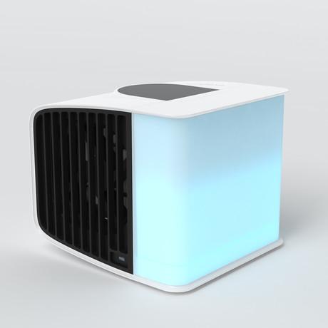 EvaSmart Set // Opaque White (Coal Black)