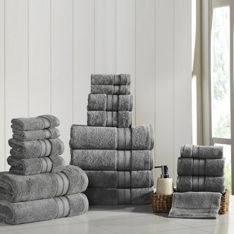 Modern Threads SpunLoft // Towels // Set of 18 (Navy)