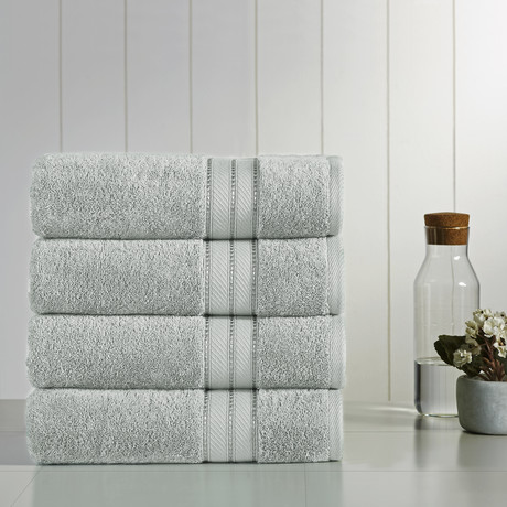 Modern Threads SpunLoft™ // Bath Towel // Set of 4 (Navy)