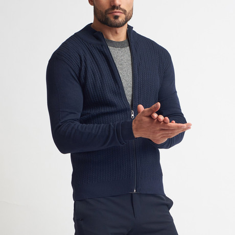 Ieuan Sweater // Dark Blue (S)