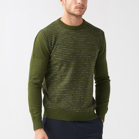 Sienna Tricot Sweater // Green (S)