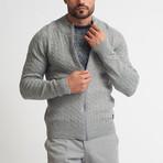Matteo Tricot Cardigan // Gray (S)