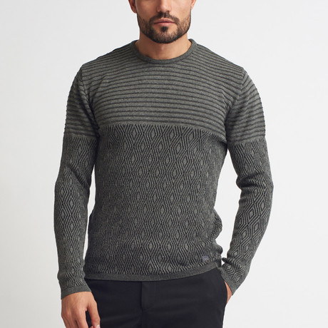 Jessie Tricot Sweater // Gray (S)