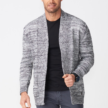 Albert Tricot Cardigan // Gray (S)