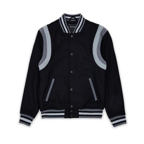 City Varsity Jacket // Black (S)