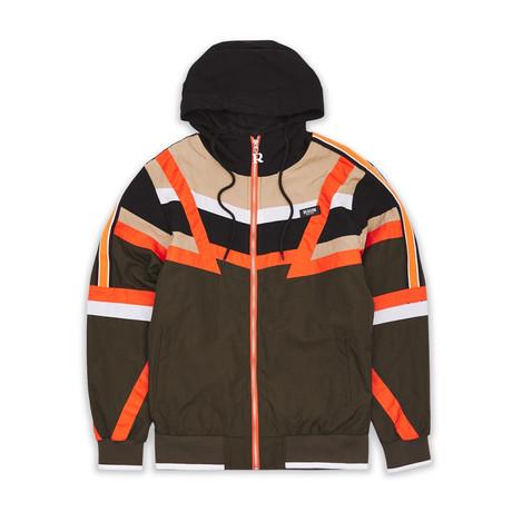 Angle Track Jacket // Brown (S)