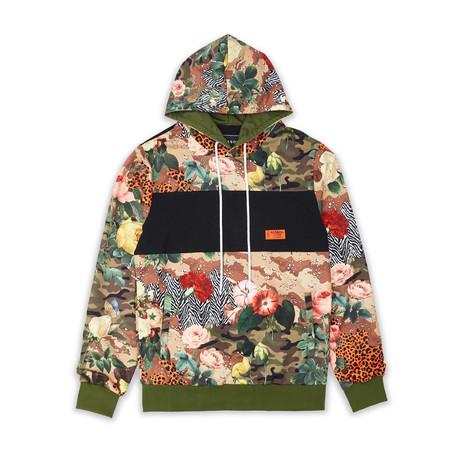 Desert Flower Hoodie // Multicolor (S)