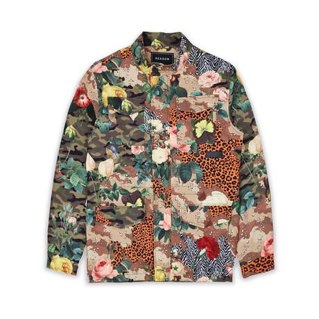 Military Garden Jacket // Multicolor (S)