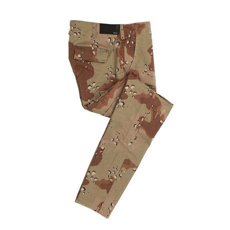 Amiri // Stack Desert Camo Cargo Pants // Brown (29)
