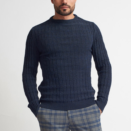 Jenson Sweater // Dark Blue (S)