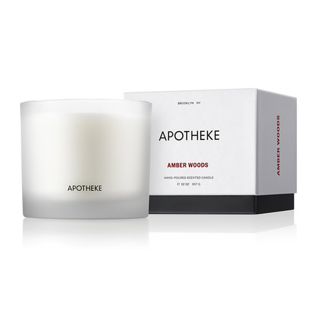 Amber Woods 3-Wick Candle