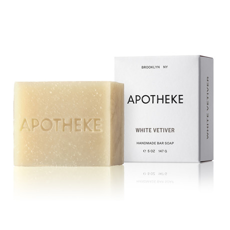 White Vetiver Bar Soap