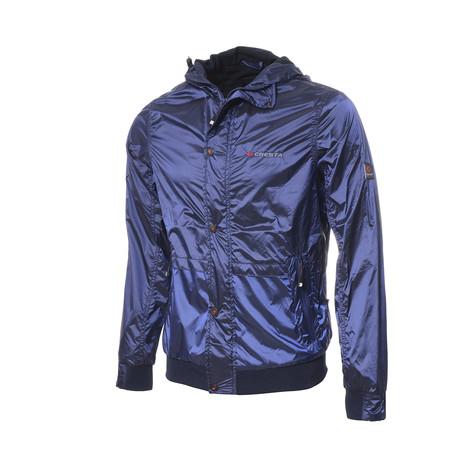 Raincoat // Dark Blue (S)