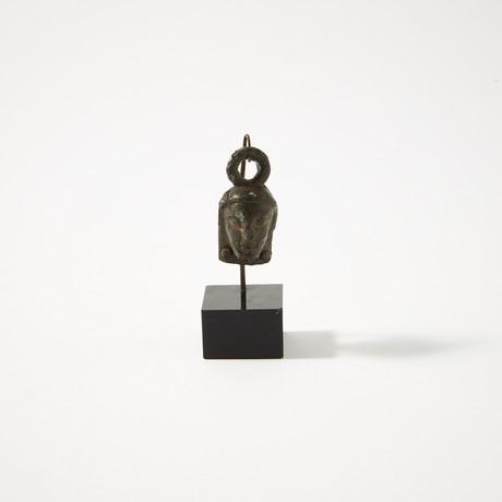 Rare Phoenician Bronze Deity Head // c. 6th - 4th Century BC
