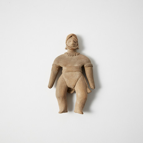Pre-Columbian Colima Ball Player // Mexico, c. 100 BC - AD 200