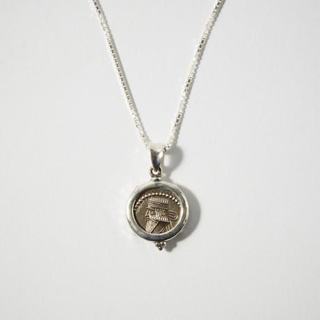 Parthia, Ancient Persia, 105-147 AD // Silver Coin Bezel