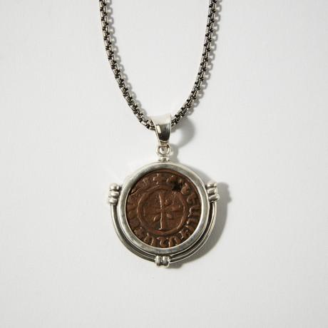Medieval Armenia, King Hetoum, 1226 - 1270 Ad // Coin Bezel