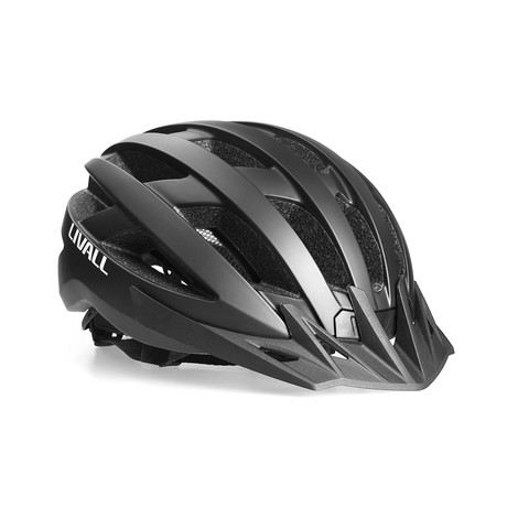 Smart Cycling Helmet (Matte Black)