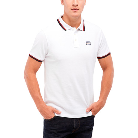 Logo Patch Polo // White (S)