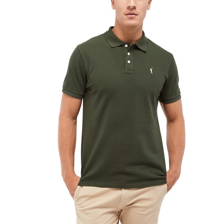 Mini Rigby Polo // Forest Green (S)