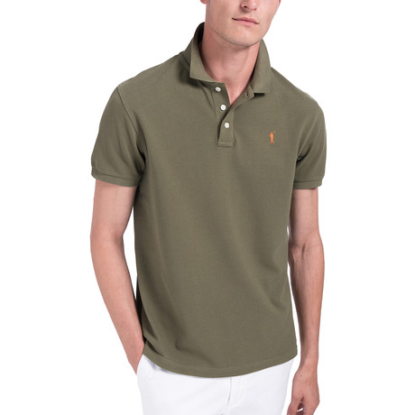 Mini Rigby Polo // Army Green (S)
