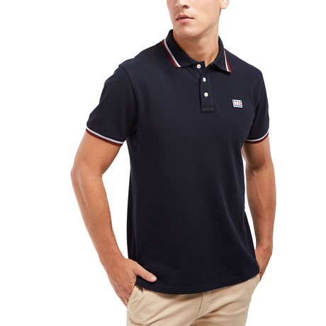 Logo Patch Polo // Navy (S)