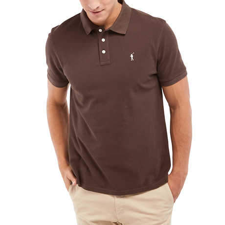 Mini Rigby Polo // Brown (S)
