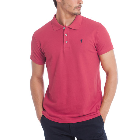 Original Mini Rigby Polo // Fuchsia (S)
