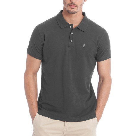 Original Mini Rigby Polo // Asphalt (S)