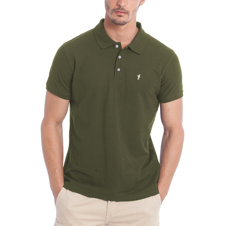 Original Mini Rigby Polo // Army Green (S)