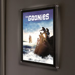 Goonies (Off to Sea) // MightyPrint™ Wall Art // Backlit LED Frame