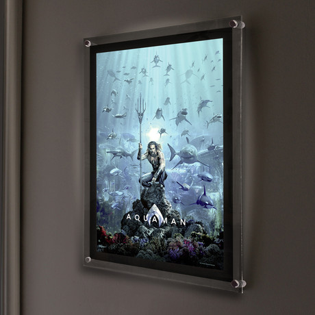 Aquaman Mightyprint™ // Backlit LED Frame