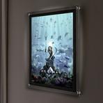 Aquaman Mightyprint™ // Backlit LED Frame
