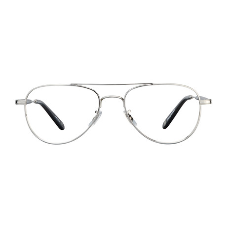 Unisex Linnie Optical Frames // Silver + Gray