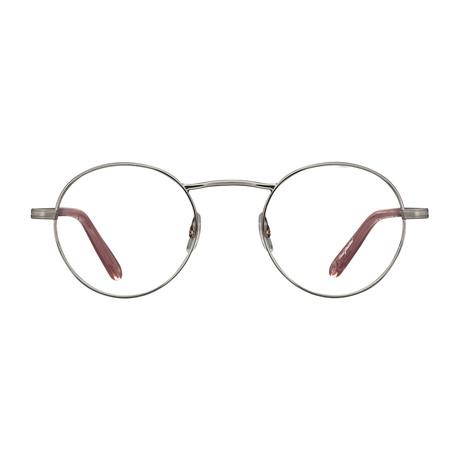 Unisex Penmar Optical Frames // Brushed Silver + Desert Rose