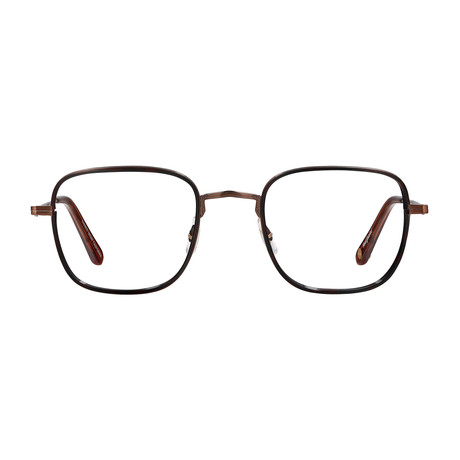 Unisex Preston Optical Frames // Mocha + Auburn