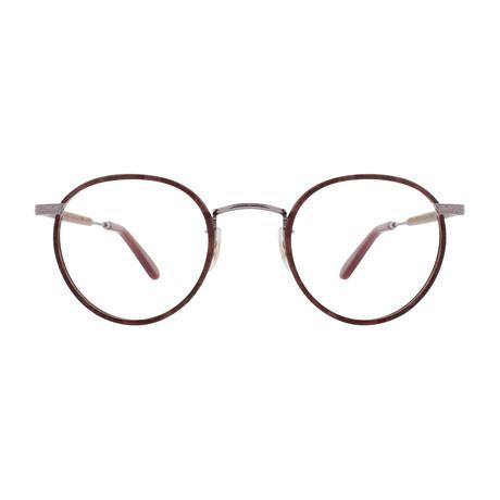 Unisex Wilson Optical Frames // Burgundy Marble