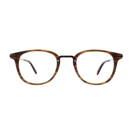 Unisex Kinney Combo Optical Frames // Matte Brandy + Tortoise