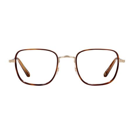 Unisex Preston Optical Frames // Marigold Tortoise + Gold