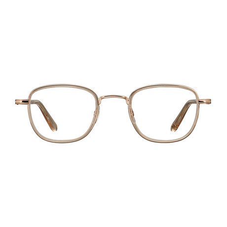 Unisex Garfield Optical Frames // Copper Nude