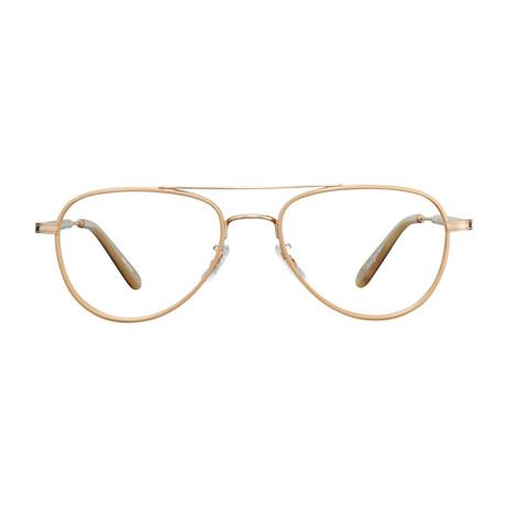 Unisex Linnie Optical Frames // Pearl Beige + Matte Gold